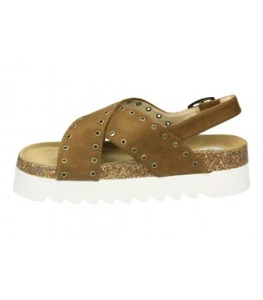 Sandalias casual de moda joven xti 47775 color marron
