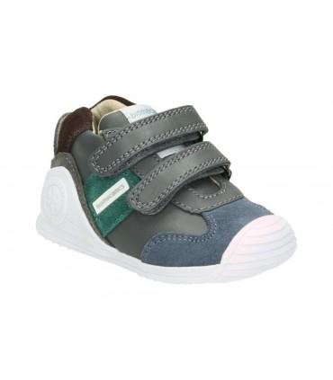 Botas para niño pablosky 587452 gris