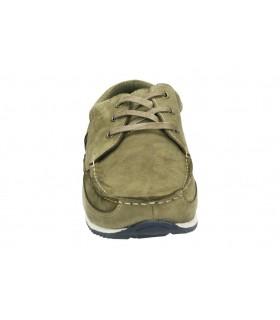Botines color azul de casual foot gear 77479