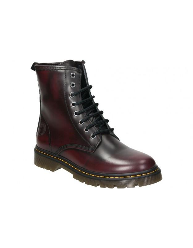 Botas casual de moda joven  irene 08 color negro