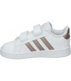 Deportivas casual de señora skechers 84446l-wht color blanco