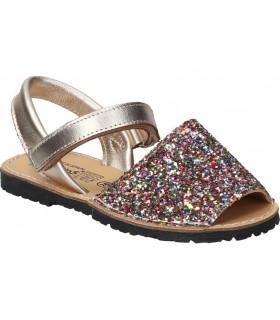 Zapatos para moda joven cuña chk10 nadia 15 en marron