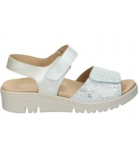 Sandalias color blanco de casual garvalin 202631 b
