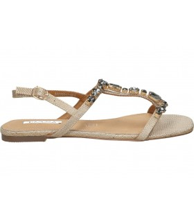 Sandalias casual de niña pablosky 477650 color plata