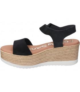 Sandalias color negro de casual yokono bari-002