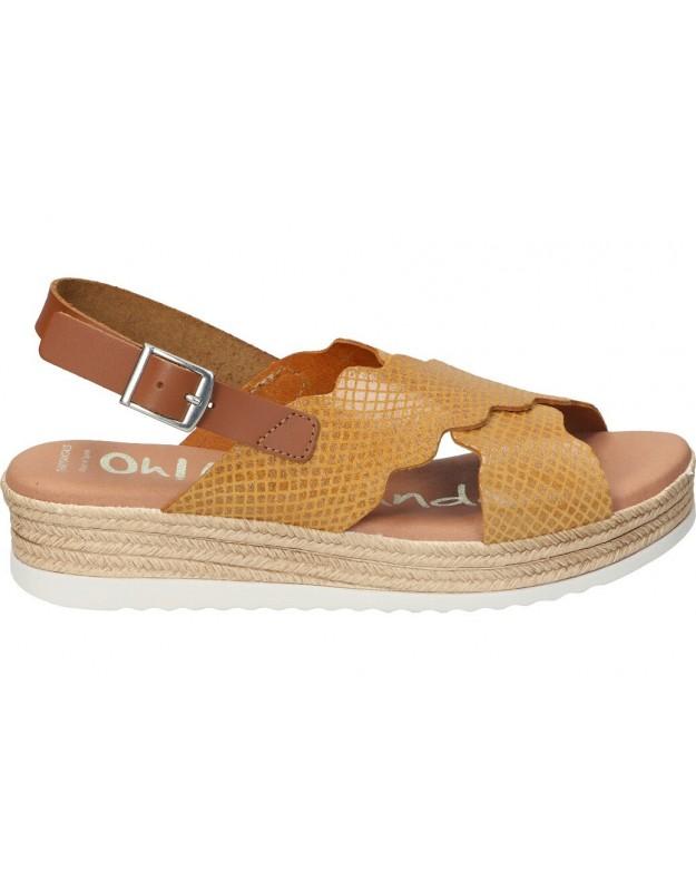 Sandalias para moda joven el naturalista  n5069 marron