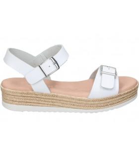 Sandalias casual de moda joven yokono capri-071 color burdeos