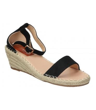 Sandalias color marron de casual interbios 9553