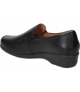 Zapatos casual de señora pitillos 6363 color negro