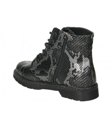 Botines casual de moda joven mtng 50309 color negro