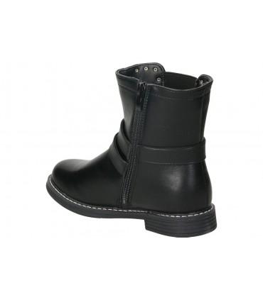 Botines color negro de casual chk10 dorian 02