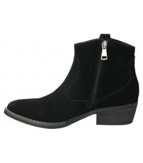 Zapatos para señora planos valerias 6530 en negro