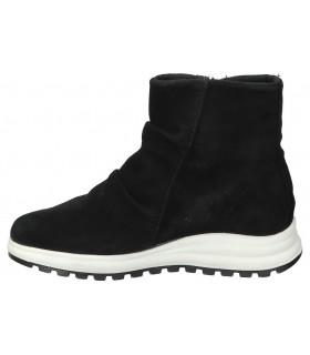 C. tapioca negro 3655-1 botas de agua para señora