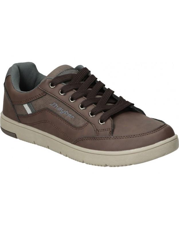 Zapatos chiruca metropolitan 03 marron para caballero