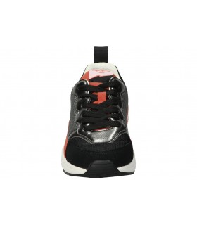 Zapatillas de casa para señora skechers BOBS TOO COZY - MAD PLAID 113218-bkmt negro