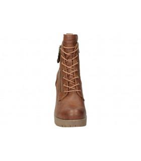 Botines para moda joven tacón chk10 recowboy 05 en marron