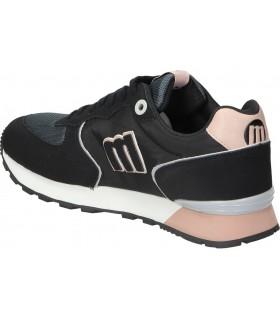 Zapatos muss & cloud silvana negro para moda joven