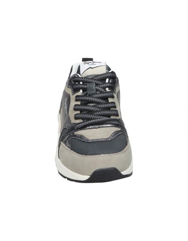 Chk10 taupe ursula 05 zapatos cuña para mujer