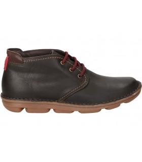 Sandalias color rojo de casual kickers jumangap