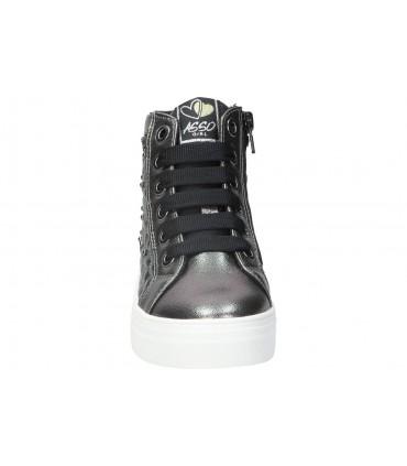Sandalias para señora skechers 41180-bkw negro