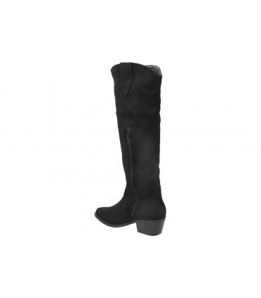 Sandalias para moda joven planos amarpies abz19079 en negro